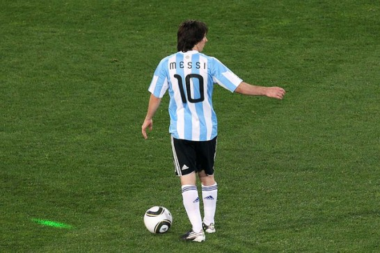 Argentina v Nigeria: Group B - 2010 FIFA World Cup