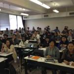 秋学期の担当科目・統計学、授業開始。
