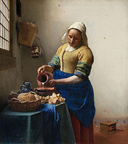 428px-Johannes_Vermeer_-_Het_melkmeisje_-_Google_Art_Project
