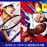 錦織圭と大坂なおみの全米オープンテニス2019